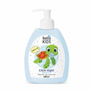 Belita Kids для мальчиков 3-7 лет. Детское крем-мыло Бабл Гам