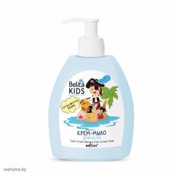 Belita Kids для мальчиков 3-7 лет. Детское крем-мыло Тутти-Фрутти-Банан