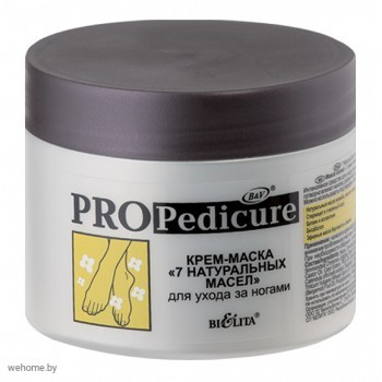 PRO PEDICURE Крем-маска для стоп. 7 натуральных масел