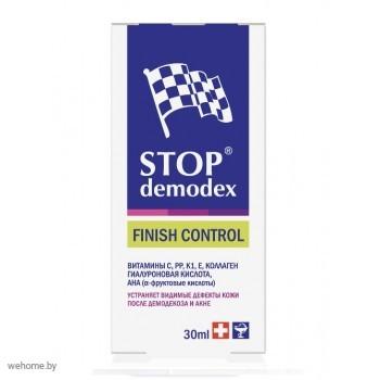 STOP Demodex Гель для лица точечного действия Stop Demodex Finish Control