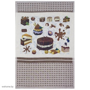 Полотенце Шоколад сливочный 50*70см