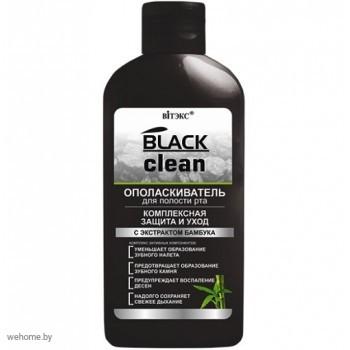 BLACK CLEAN ОПОЛАСКИВАТЕЛЬ для полости рта «Комплексная защита и уход»
